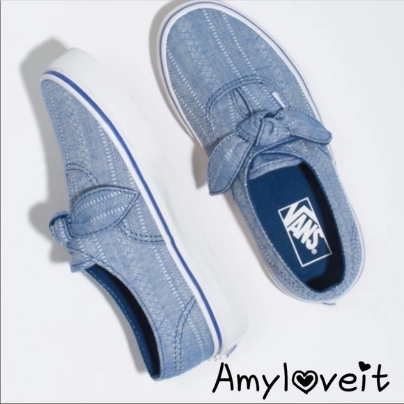 Vans Shoes | Authentic Knotted Lace